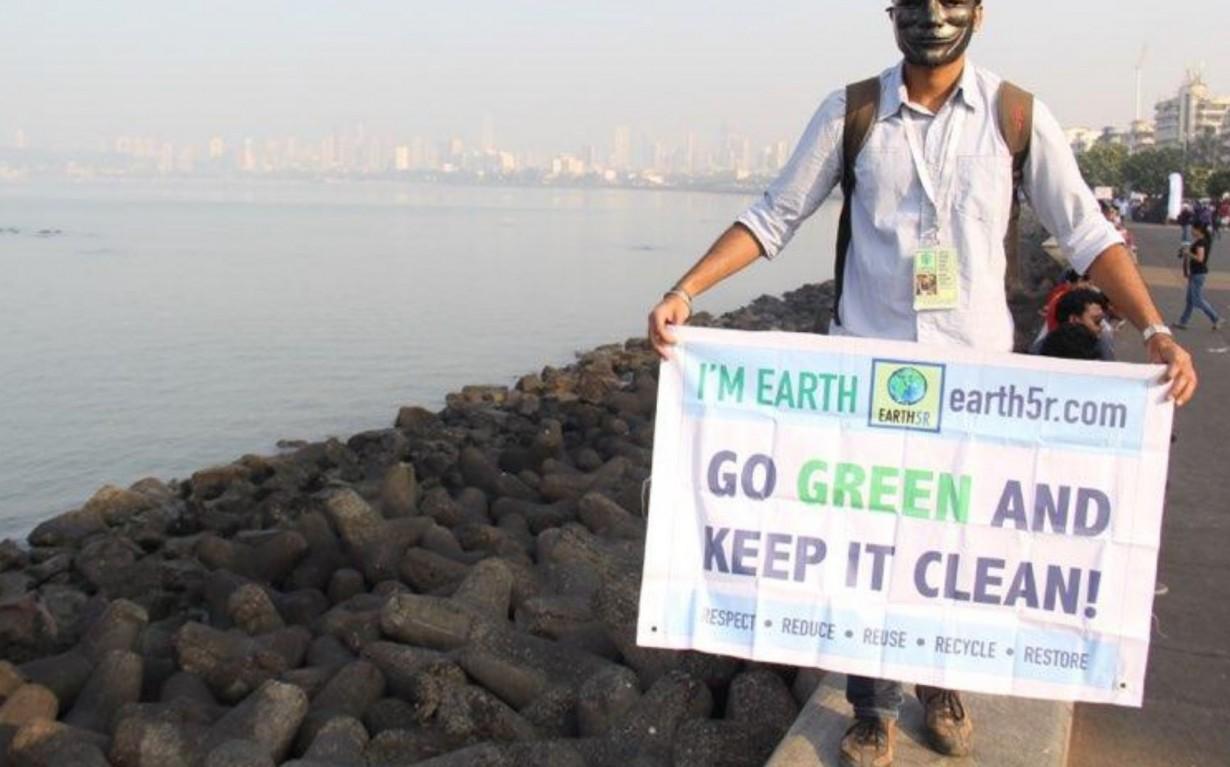 Environmental Awareness Marathon Earth5R Mumbai India Environmental NGO