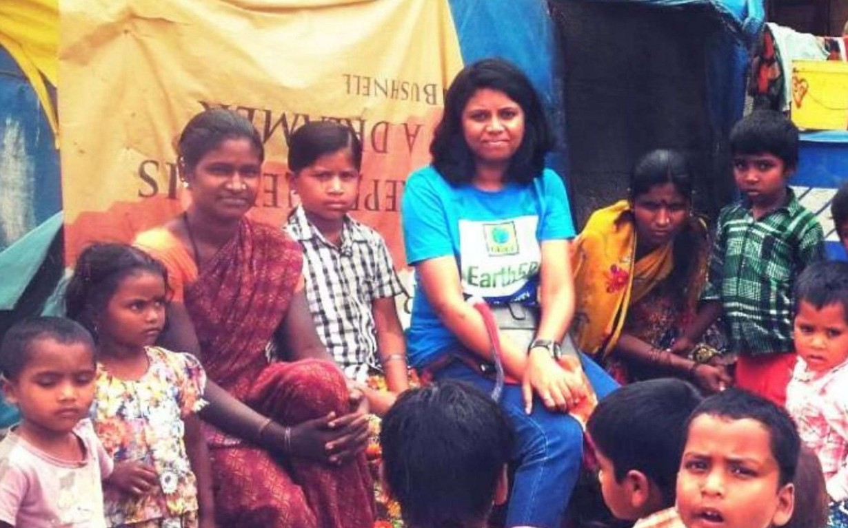 Environmental Awareness Volunteer Bangalore Slum Mumbai India Environmental NGO Earth5R