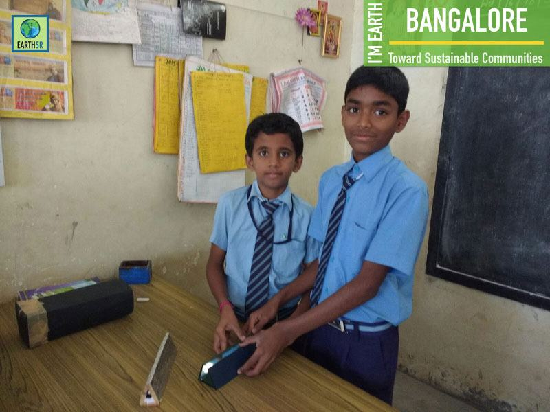 Environmental Awareness Workshop Bangalore School Children Earth5R Mumbai India Environmental NGO