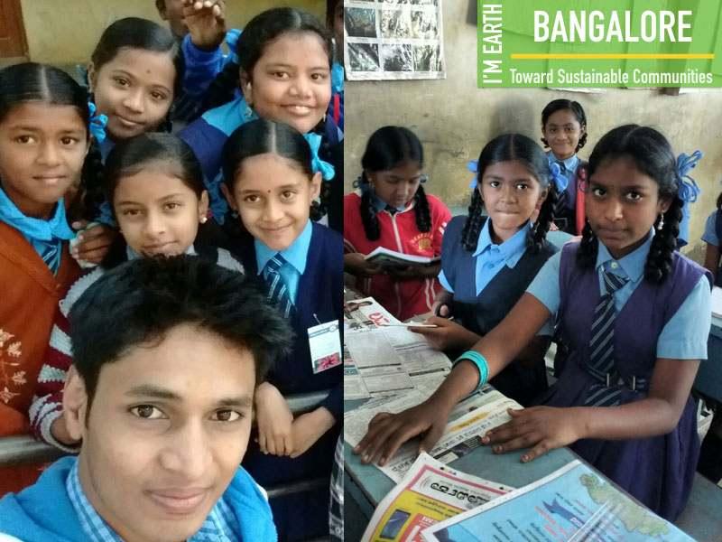 Environmental Awareness Workshop Bangalore School Children Mumbai India Environmental NGO Earth5R