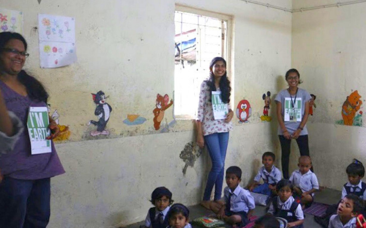 Environmental Education Children Climate Change Mumbai India Environmental NGO Earth5R