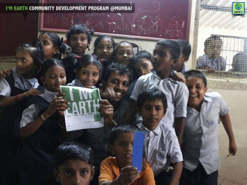 Environmental Education Children Mumbai India Environmental NGO Earth5R