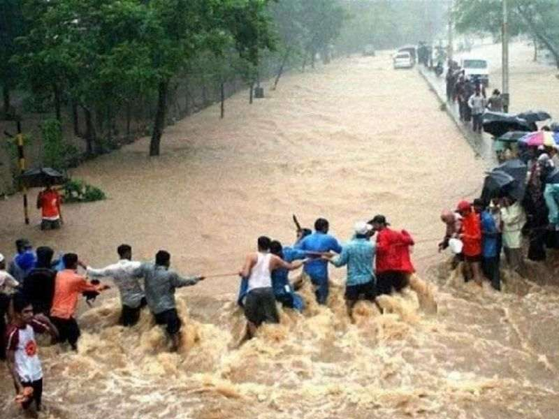 Flood Mumbai India Environmental NGO Earth5R