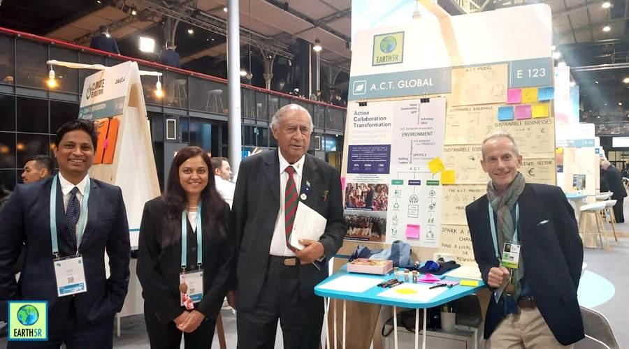 Former president of Fiji Epeli Nilatikau wants to bring Earth5R's ACT Global mode to more countries Mumbai India Environmental NGO
