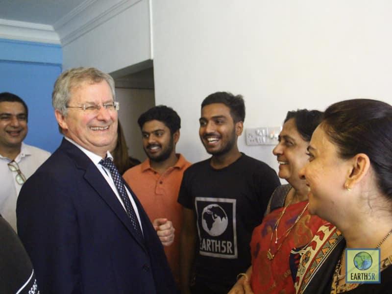 French Ambassador Alexandre Ziegler Mumbai India Environmental NGO Earth5R