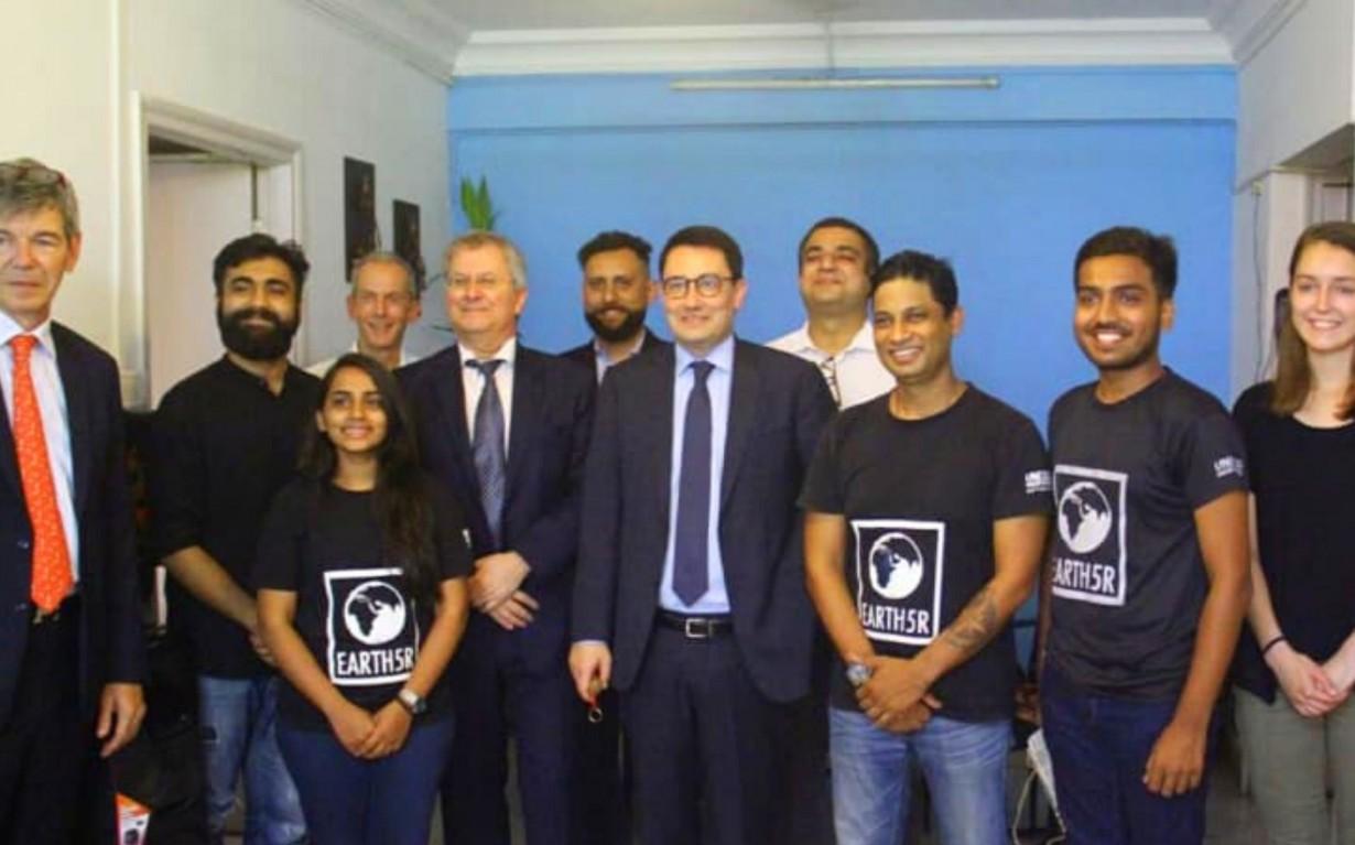French Ambassador Meeting Mumbai India Environmental NGO Earth5R
