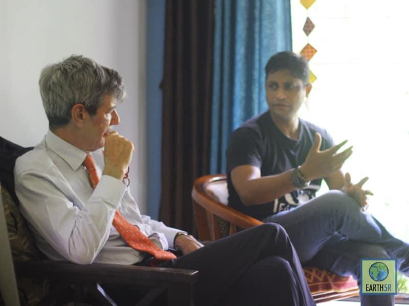French Ambassador Meeting Sustainability Mumbai India Environmental NGO Earth5R