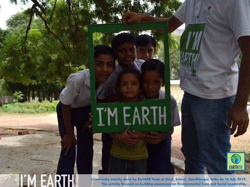 Gandhinagar Community Awareness Earth5R Mumbai India Environmental NGO