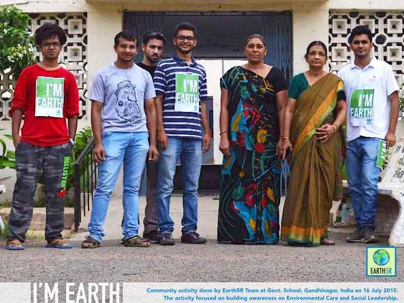 Gandhinagar Community Development Earth5R Mumbai India Environmental NGO