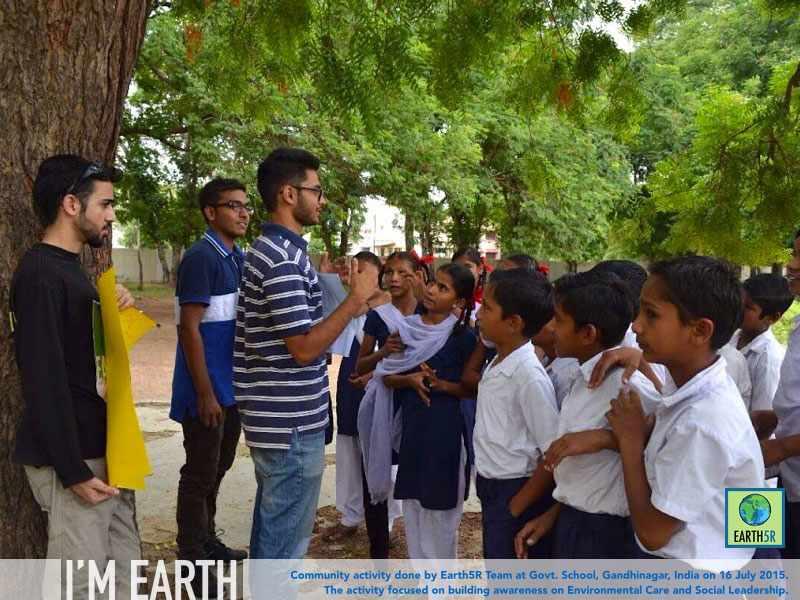 Gandhinagar Community Service Awareness Earth5R Mumbai India Environmental NGO