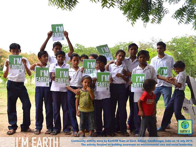 Gandhinagar Community Service Earth5R Mumbai India Environmental NGO