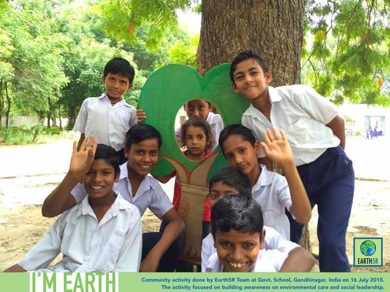 Gandhinagar Community Service Volunteer Earth5R Mumbai India Environmental NGO