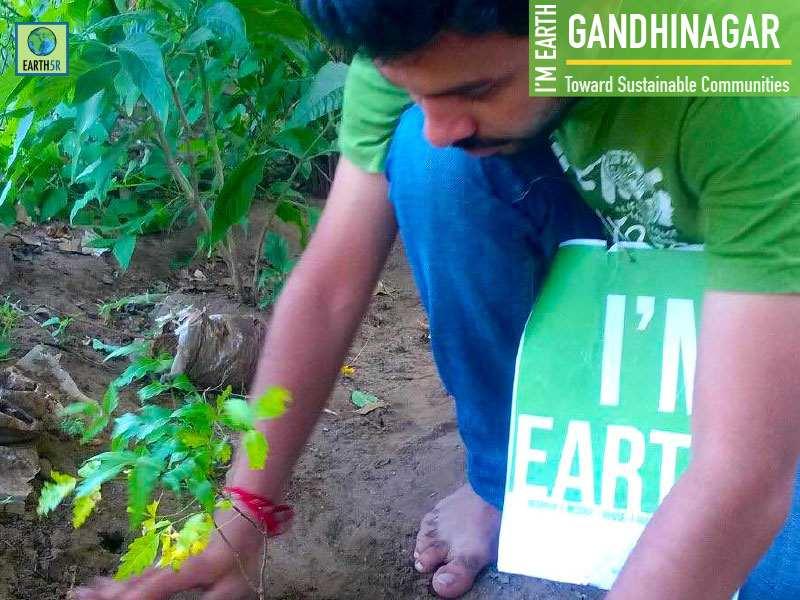 Gandhinagar Plantation Earth5R Mumbai India Environmental NGO Volunteer
