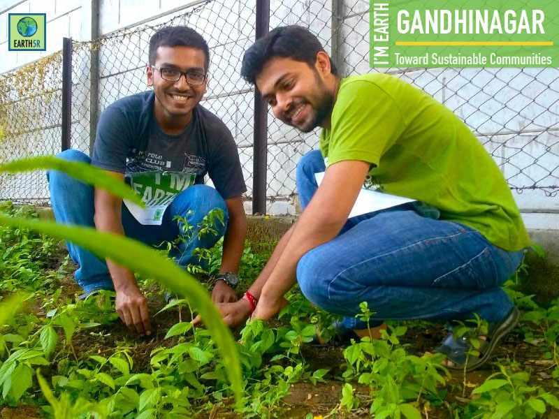 Gandhinagar Plantation Earth5R Mumbai India Environmental NGO