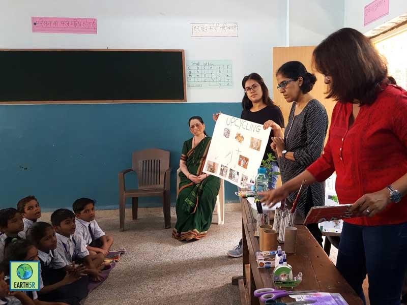 Gardening Workshop Recycling Mumbai India Environmental NGO Earth5R