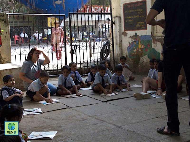 Gardening Workshop Volunteer Mumbai India Environmental NGO Earth5R