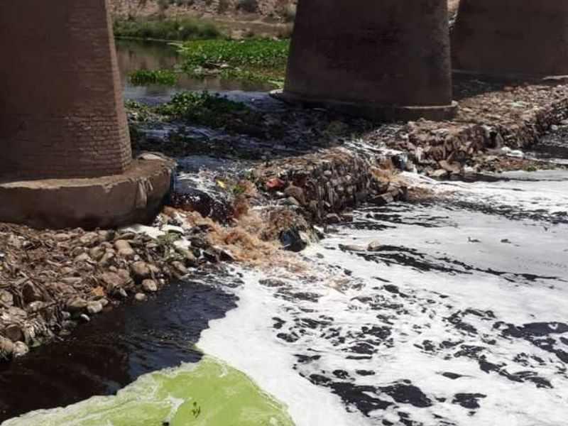 Ghaggar River Industrial Pollution Mumbai India Environmental NGO Earth5R