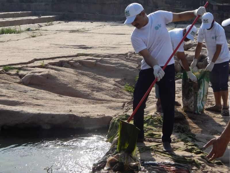 Ghaggar River Volunteer Mumbai India Environmental NGO Earth5R