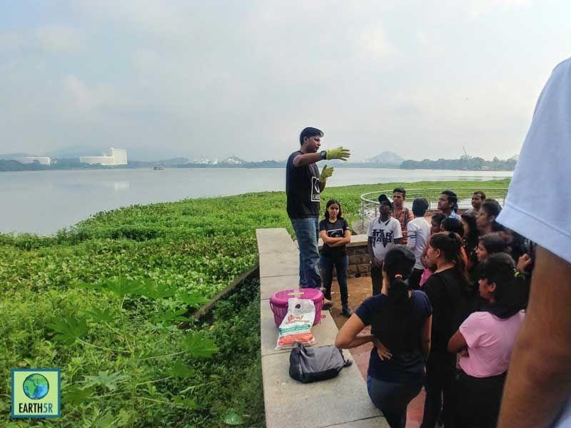 Ghaggar River Waste segragation Mumbai India Environmental NGO Earth5R