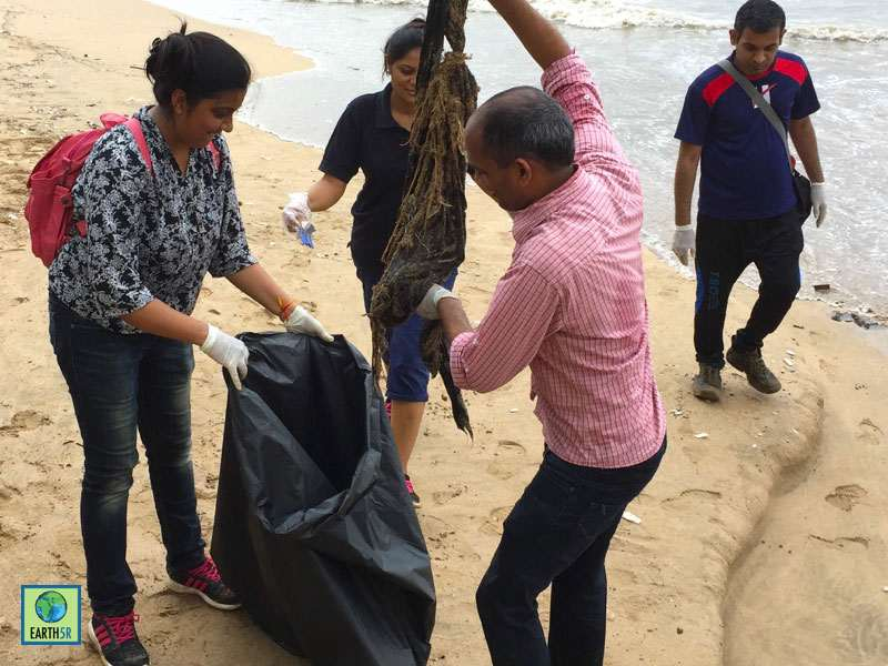 Hexaware CSR Waste Management Mumbai India Environmental NGO Earth5R