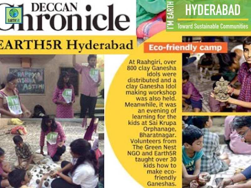 Hyderabad Community Development Deccan chronicle Mumbai India Environmental NGO Earth5R