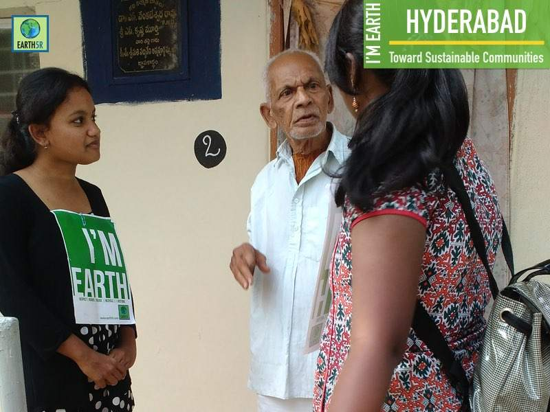 Hyderabad Community Development Volunteer Mumbai India Environmental NGO Earth5R