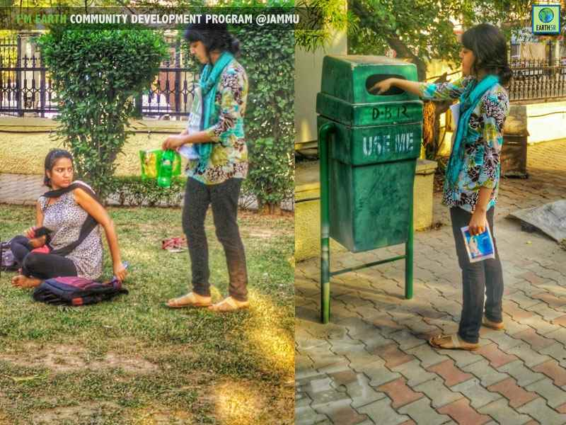 Jammu Cleanup Volunteer Mumbai India Environmental NGO Earth5R