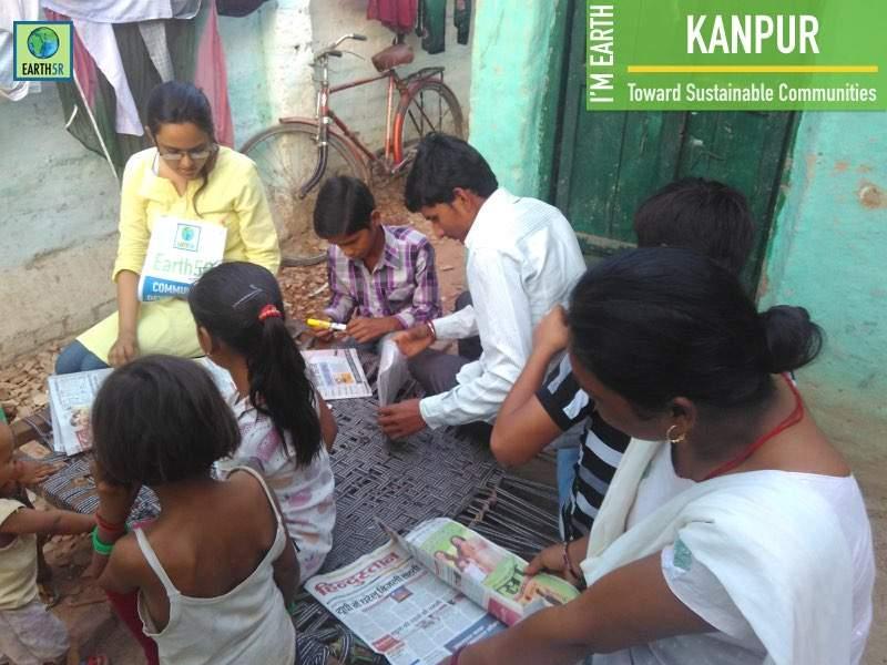 Kanpur Community Development Mumbai India Environmental NGO Earth5R