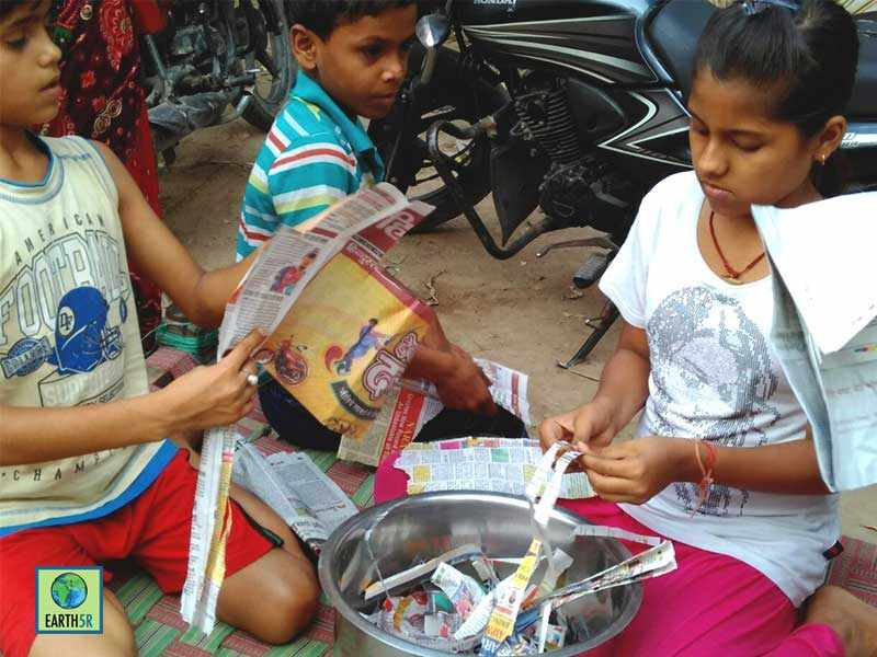 Kanpur Community Development Upcycling Earth5R Mumbai India Environmental Organisation