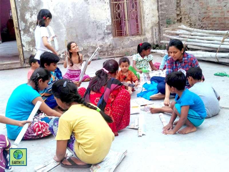 Kanpur Recycling Waste Earth5R Mumbai India Environmental NGO