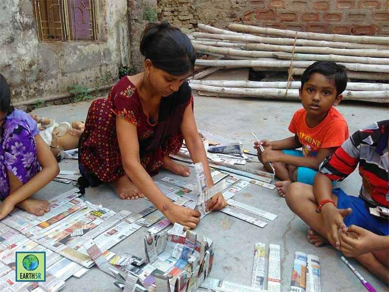 Kanpur Recycling Waste Volunteer Earth5R Mumbai India Environmental NGO