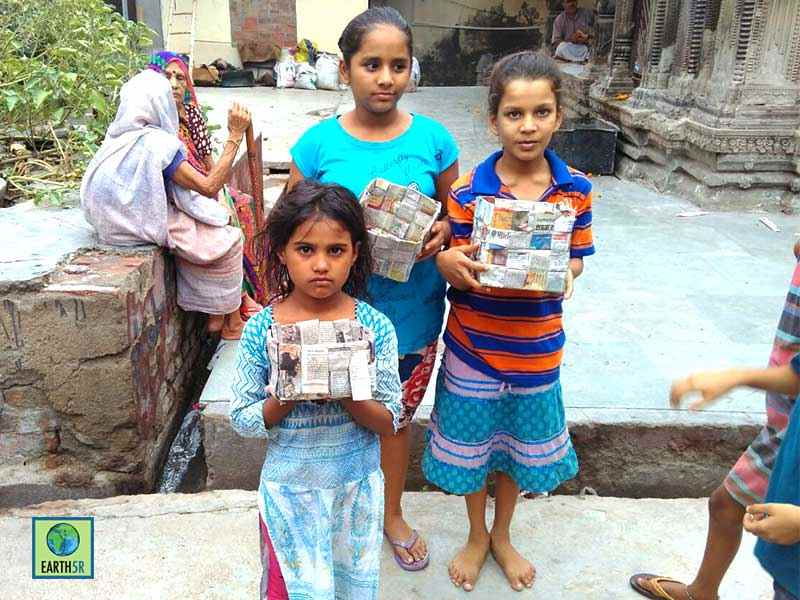Kanpur Upcycling Waste Earth5R Mumbai India Environmental NGO