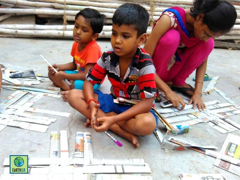 Kanpur Upcycling Waste Management Earth5R Mumbai India Environmental NGO