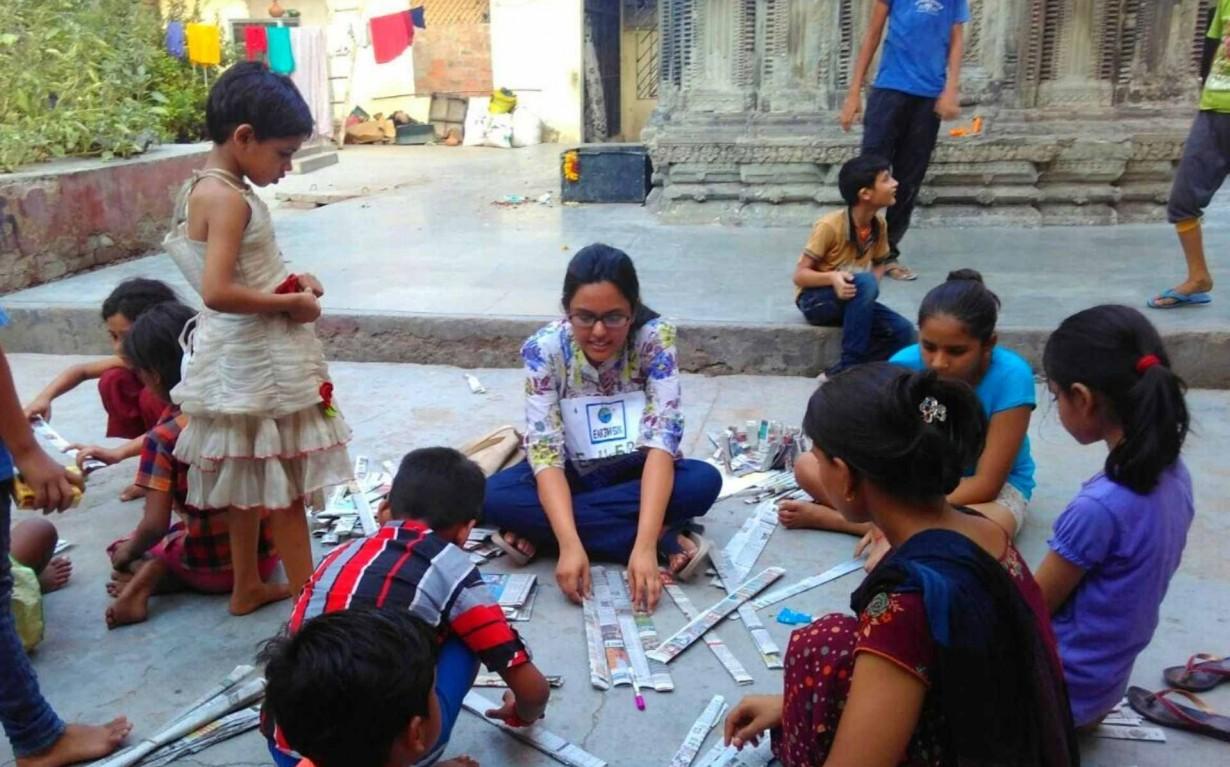 Kanpur Upcycling Waste Volunteer Earth5R Mumbai India Environmental NGO