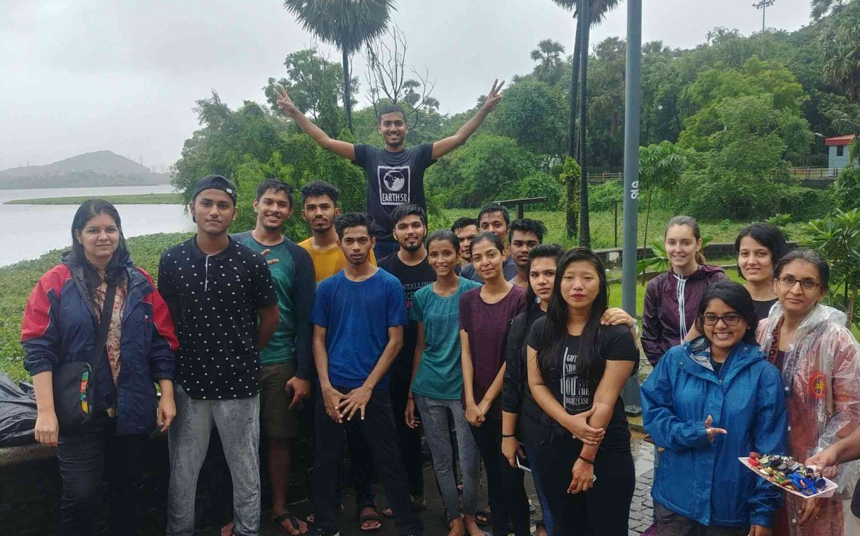 Lake Clean up Teammates volunteer Mumbai India Environmental NGO Earth5r