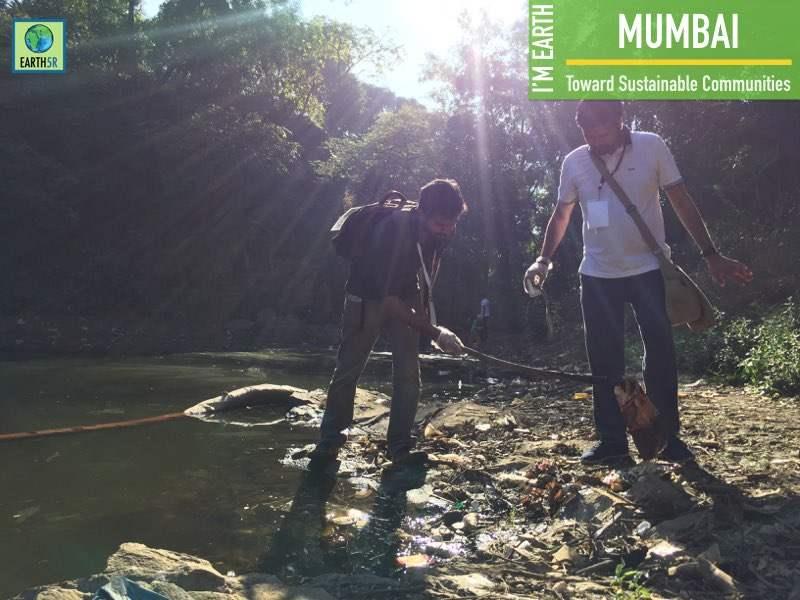 Lake Cleanup Community Awareness Mumbai India Environmental NGO Earth5R