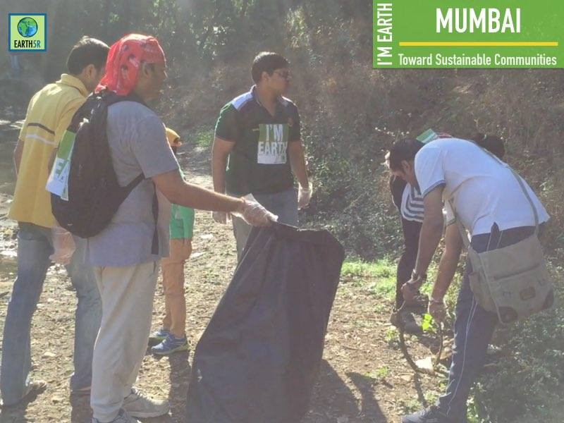 Lake Cleanup Community Development Mumbai India Environmental NGO Earth5R