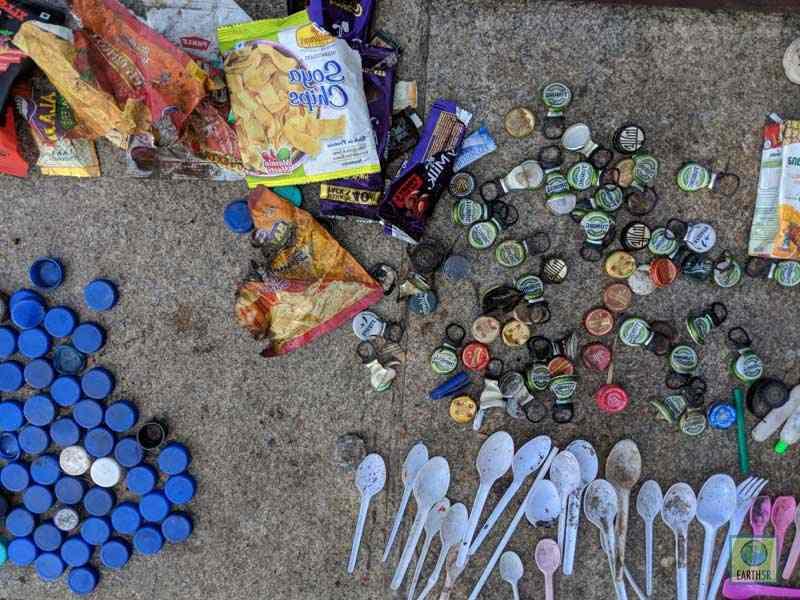 Lake Cleanup Plastic Waste Mumbai India Environmental NGO Earth5R