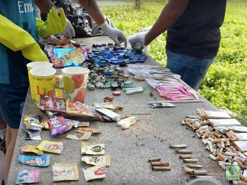 Lake Cleanup Waste Segregation Mumbai India Environmental NGO Earth5R