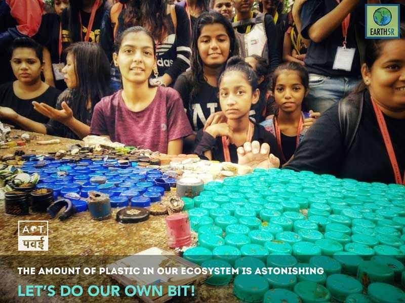 Lake Cleanup awareness Environmental NGO Mumbai India Earth5R Saurabh Gupta Environmentalist
