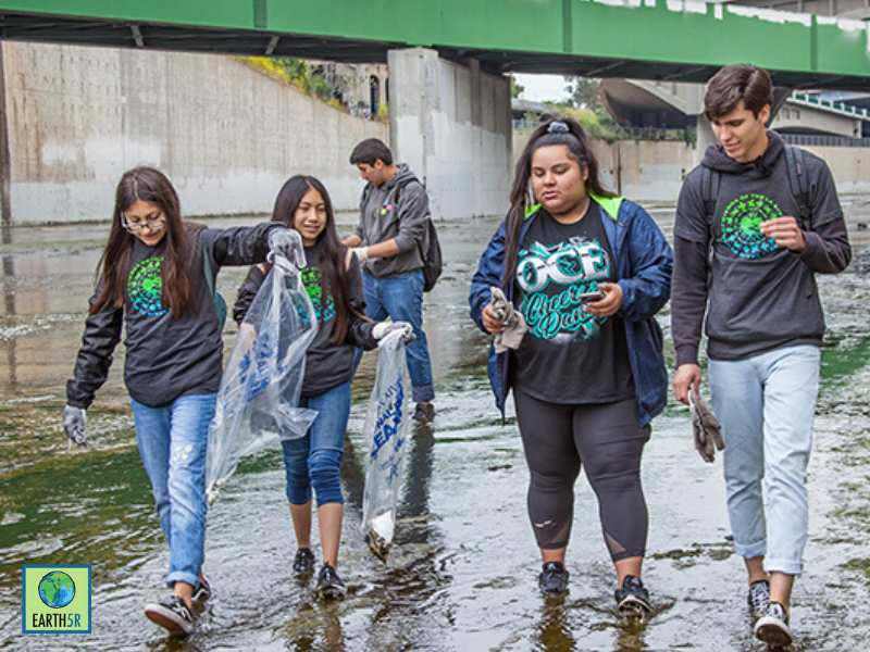 Los Angeles Volunteer Circular Economy Mumbai India Environmental NGO Earth5R
