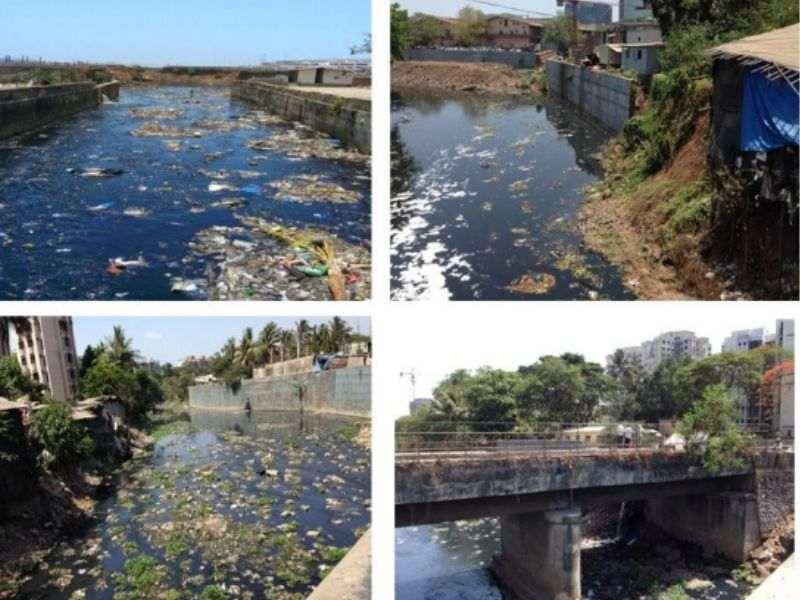 Mithi River Pollution Recycle Mumbai India Environmental NGO Earth5R
