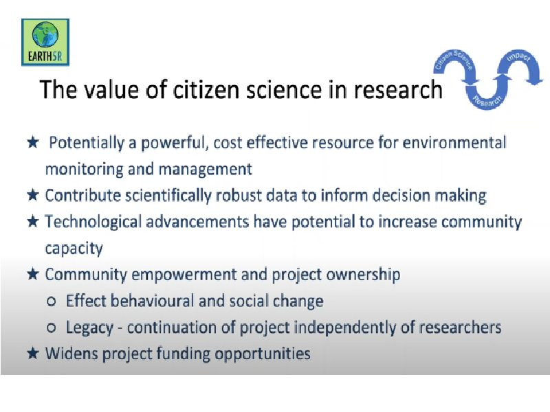 Mumbai India Environmental NGO Earth5r webinar citizen science
