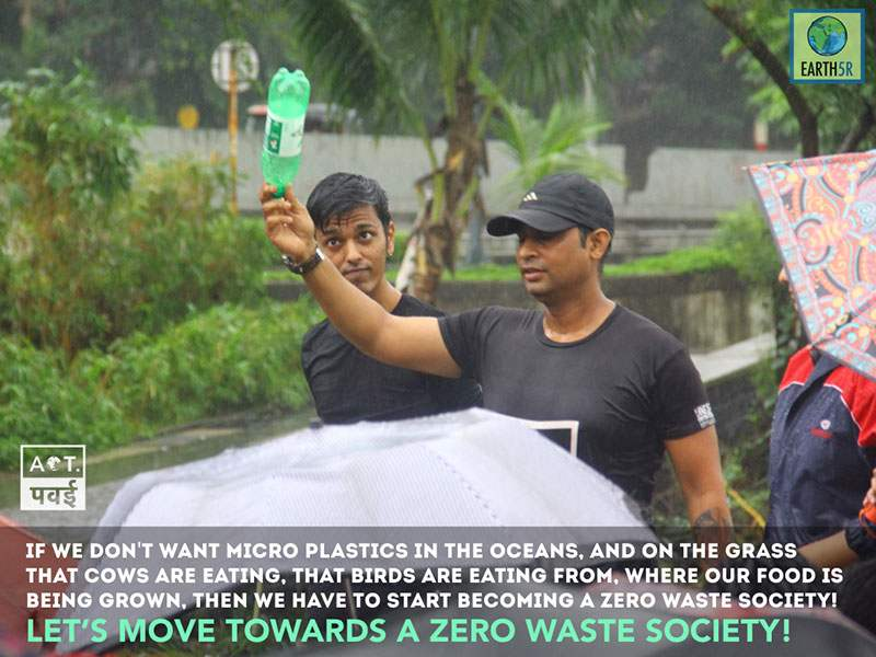 Mumbai Plantation Environmental Organisation India Earth5R Saurabh Gupta Environmentalist
