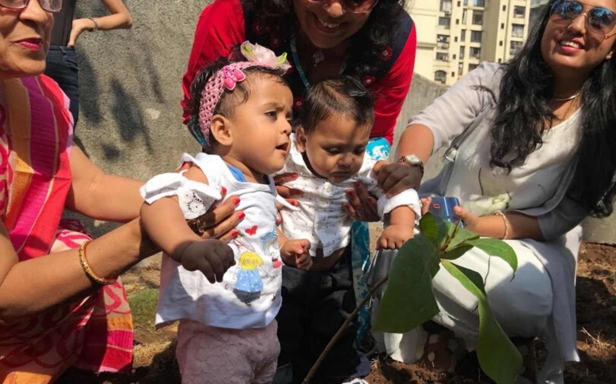 Mumbai Plantation initiative Environmental NGO Earth5R Sustainability CSR