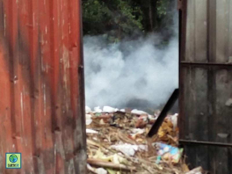 Open Dumping Waste Management Earth5R Mumbai India Environmental NGO