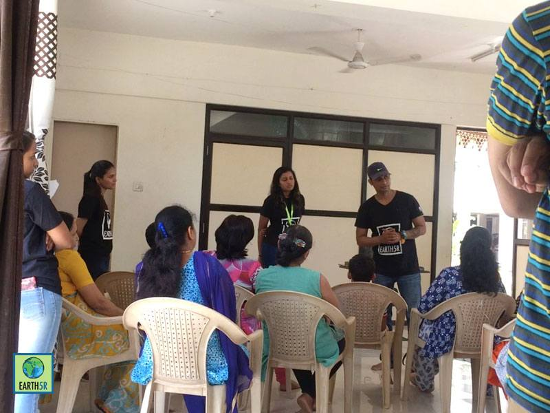 Organic Gardening Workshop Pune Volunteer Earth5R Mumbai India Environmental NGO