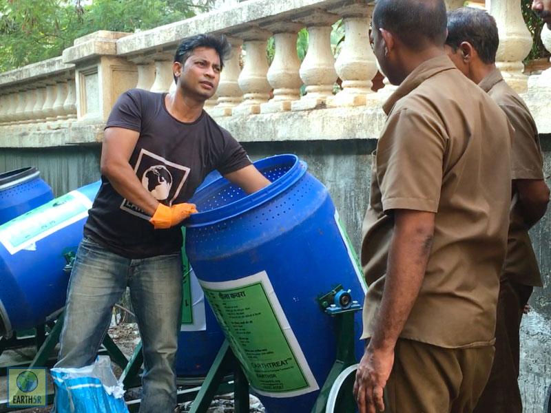 Organic Waste Compost Mumbai India Environmental NGO Earth5R