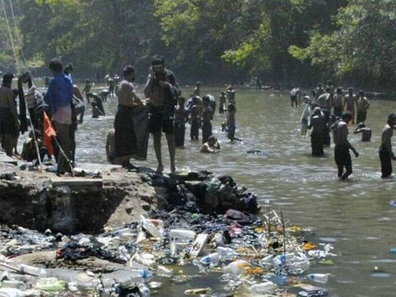 Pamba River Pollution Kerala Sewage Mumbai India Environmental NGO Earth5R