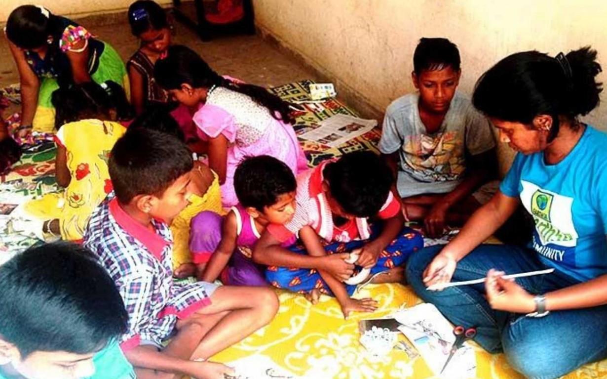 Paper Upcycling Workshop Bangalore Earth5R Mumbai India Environmental NGO